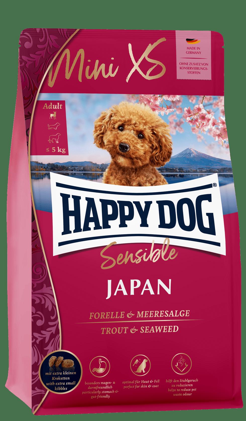 HAPPY DOG ミニ XS ジャパン